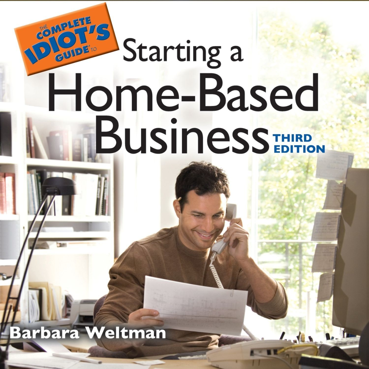 Printable The Complete Idiot's Guide to Starting a Home-Based Business Audiobook Cover Art