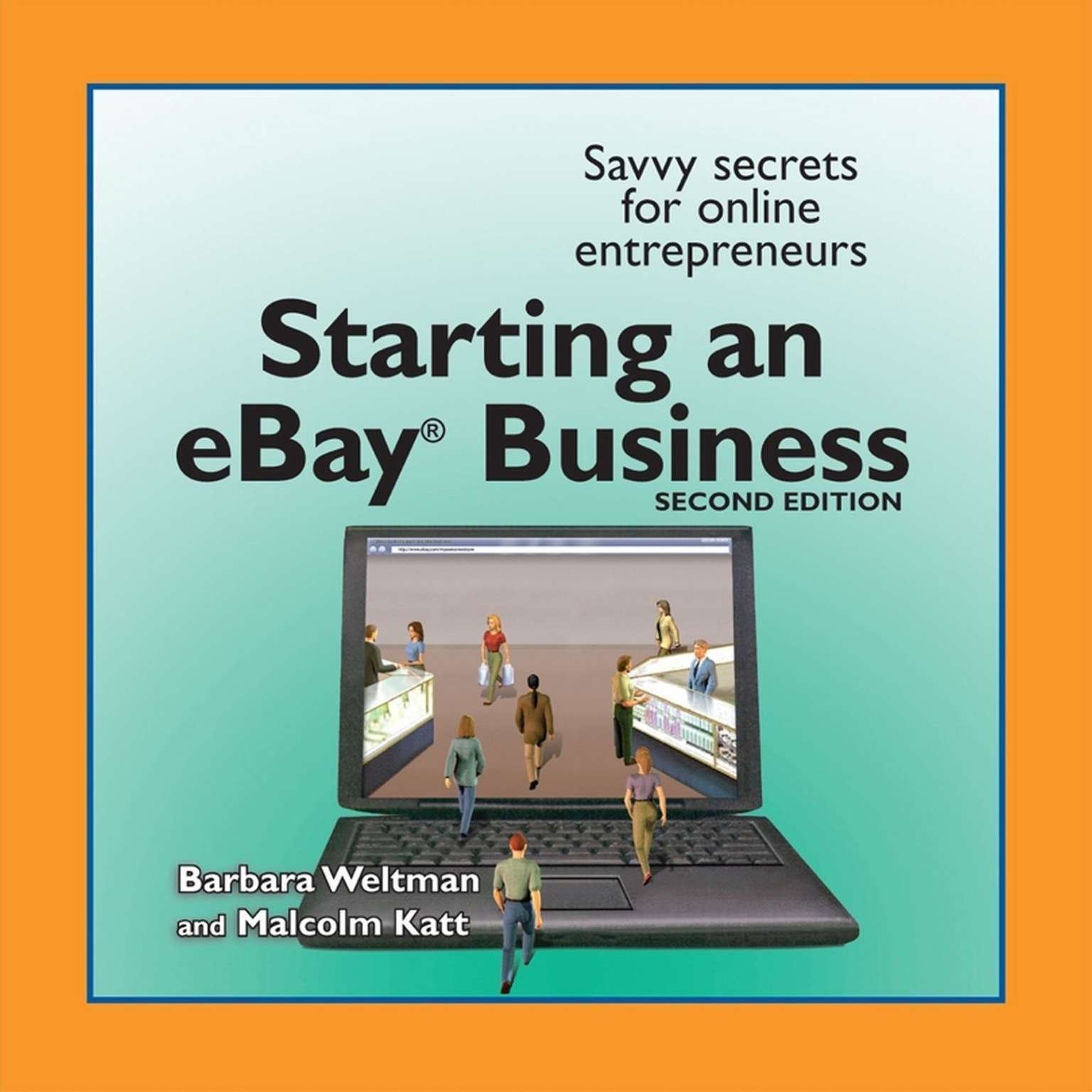 Printable The Complete Idiot's Guide to Starting an Ebay Business Audiobook Cover Art