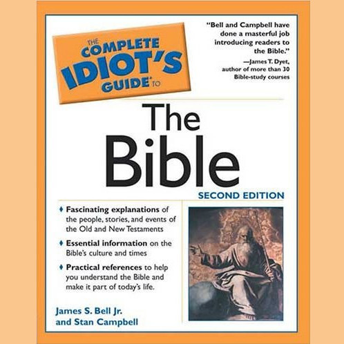 Printable The Complete Idiot's Guide to the Bible Audiobook Cover Art