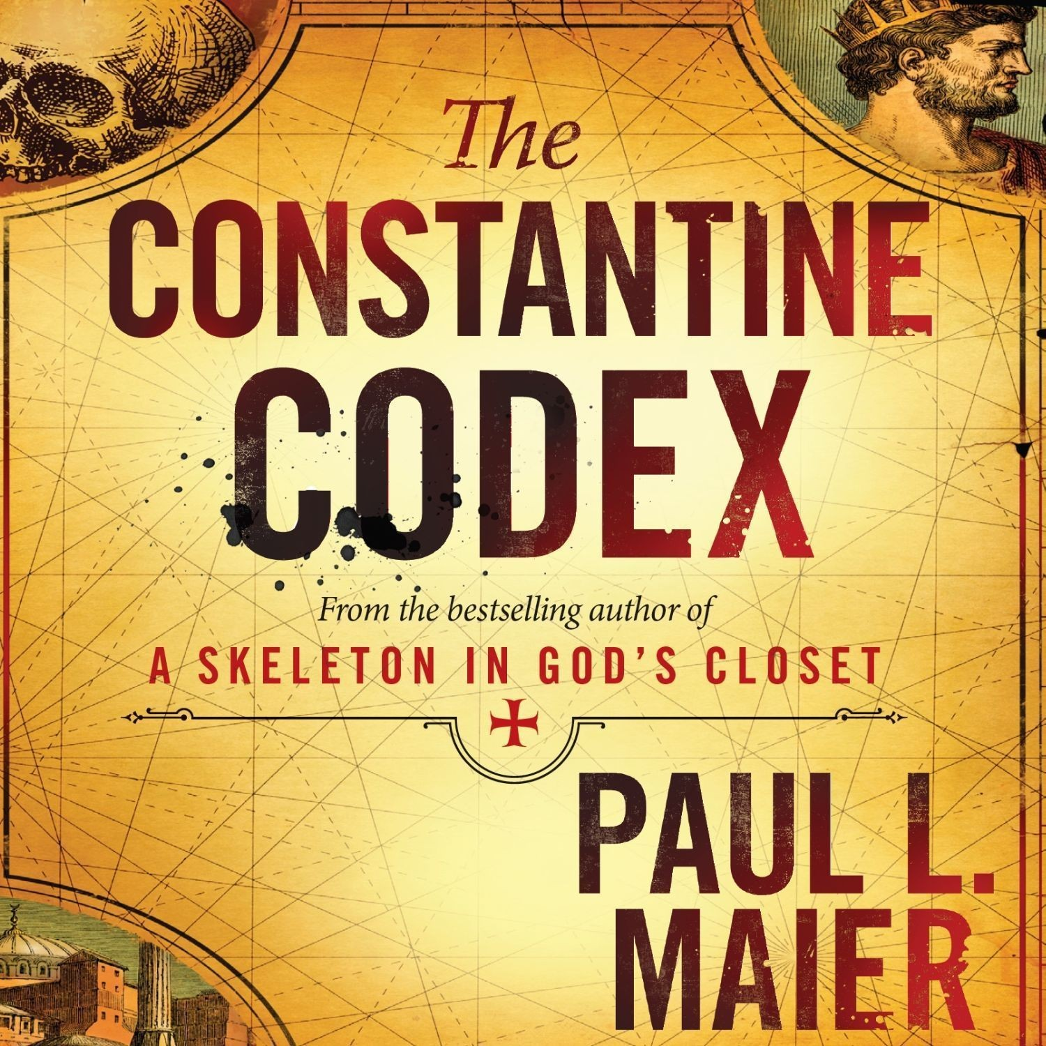 Printable The Constantine Codex Audiobook Cover Art