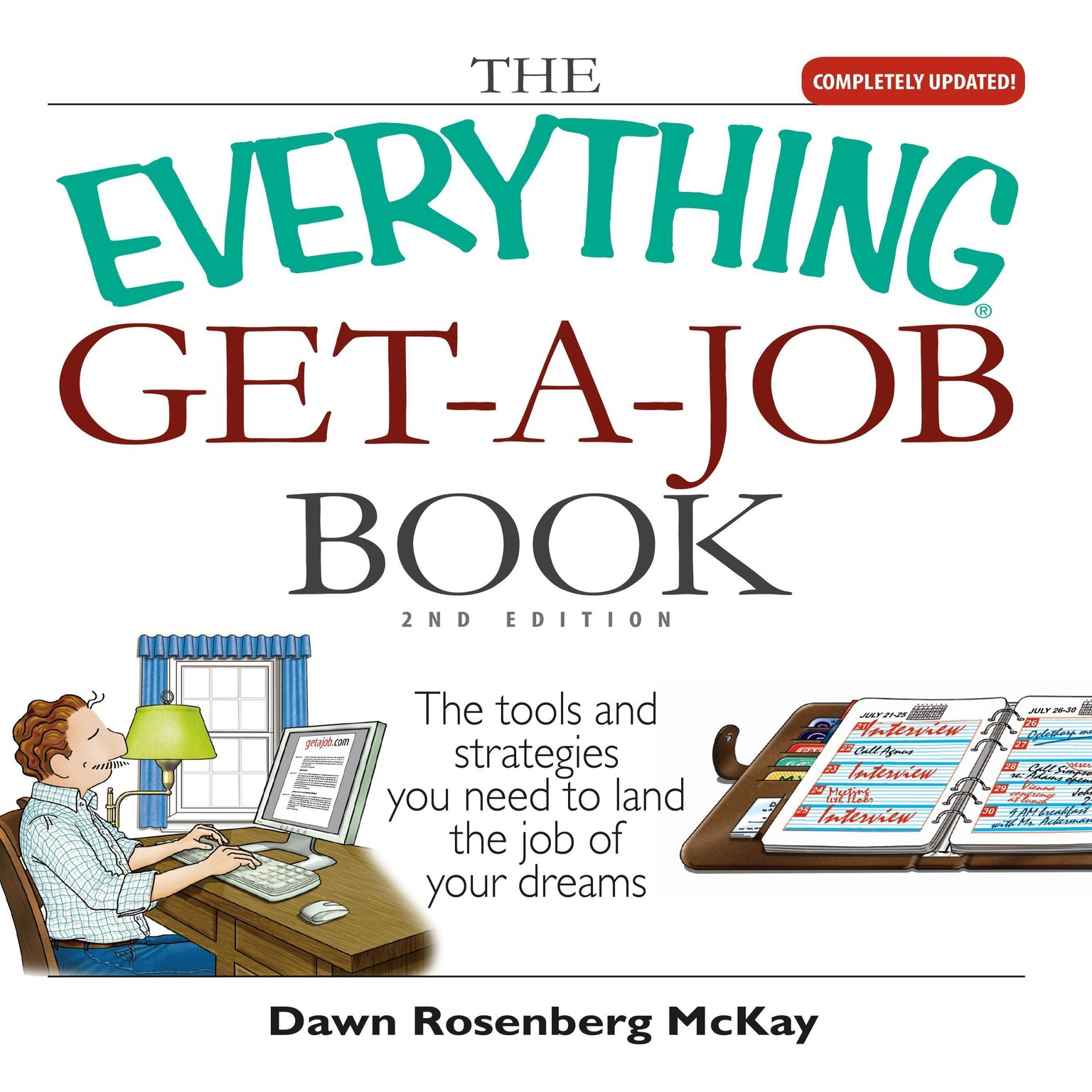Printable The Everything Get-a-Job Book Audiobook Cover Art