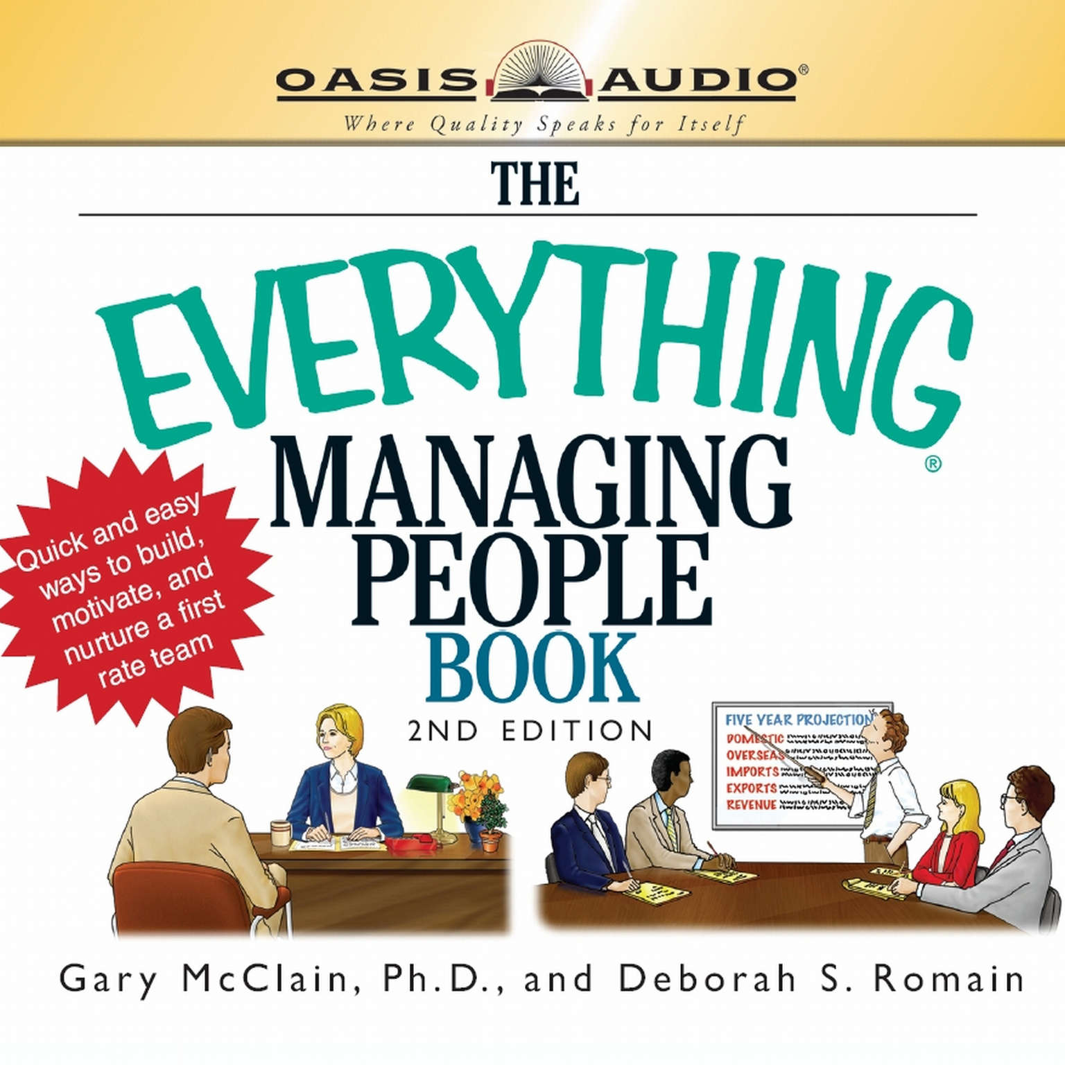 Printable The Everything Managing People Book Audiobook Cover Art