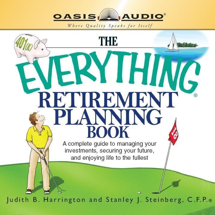 Printable The Everything Retirement Planning Book Audiobook Cover Art