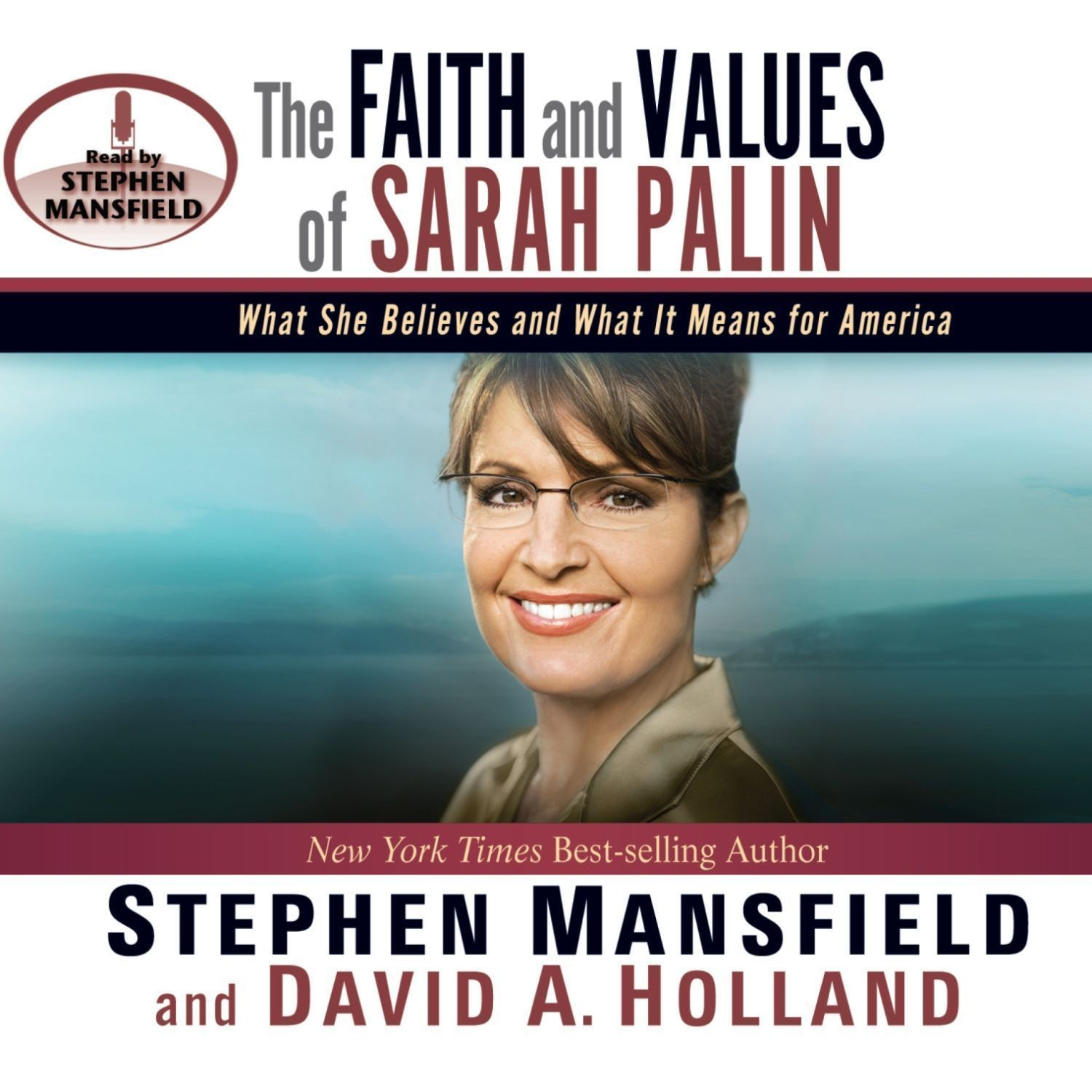 Printable The Faith and Values of Sarah Palin Audiobook Cover Art