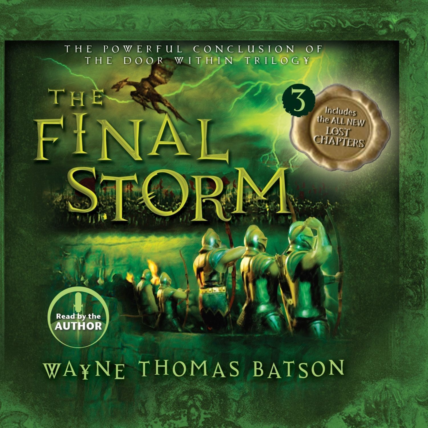 Printable The Final Storm Audiobook Cover Art