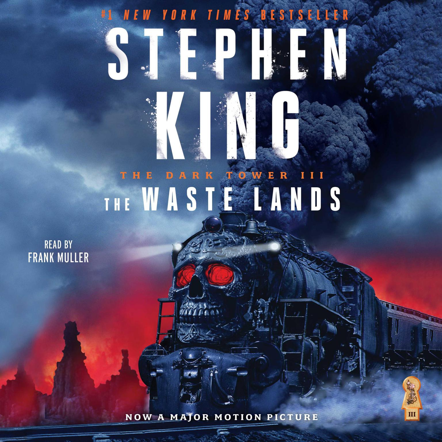 Printable Dark Tower III: The Waste Lands Audiobook Cover Art