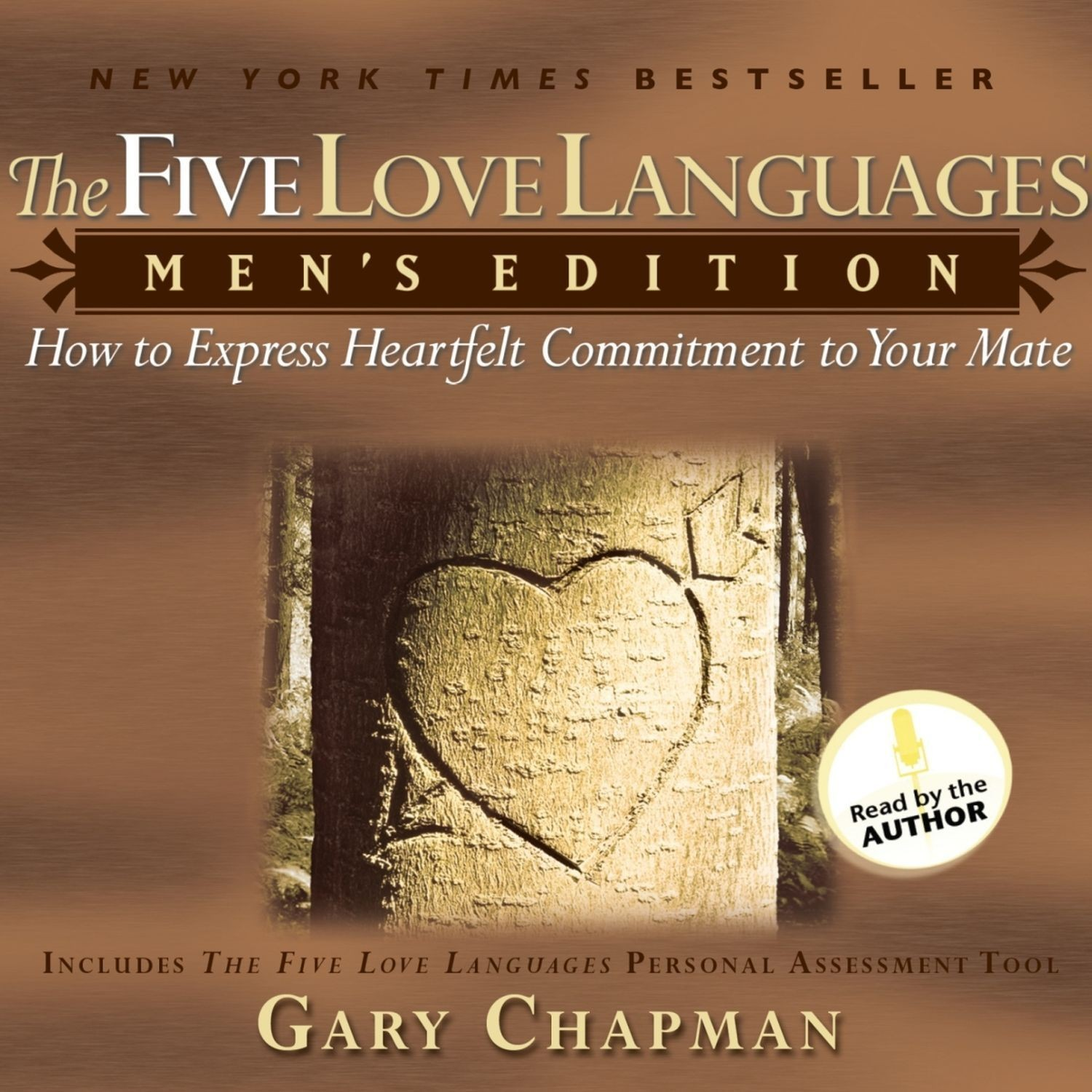 Printable The Five Love Languages: Men's Edition: How to Express Heartfelt Commitment to Your Mate Audiobook Cover Art