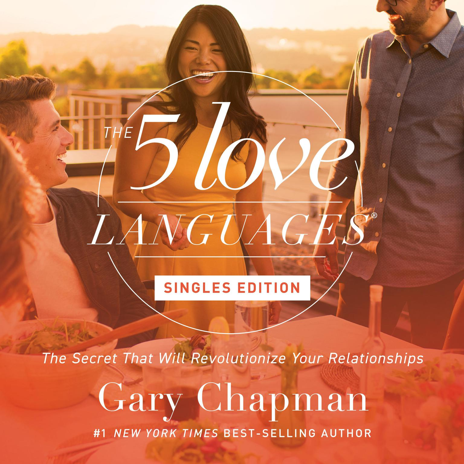 Printable The Five Love Languages: Singles Edition Audiobook Cover Art