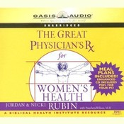 The Great Physicians Rx for Womens Health Audiobook, by Jordan Rubin