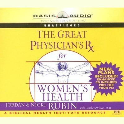 The Great Physicians Rx for Womens Health Audiobook, by Wilson Pancheta