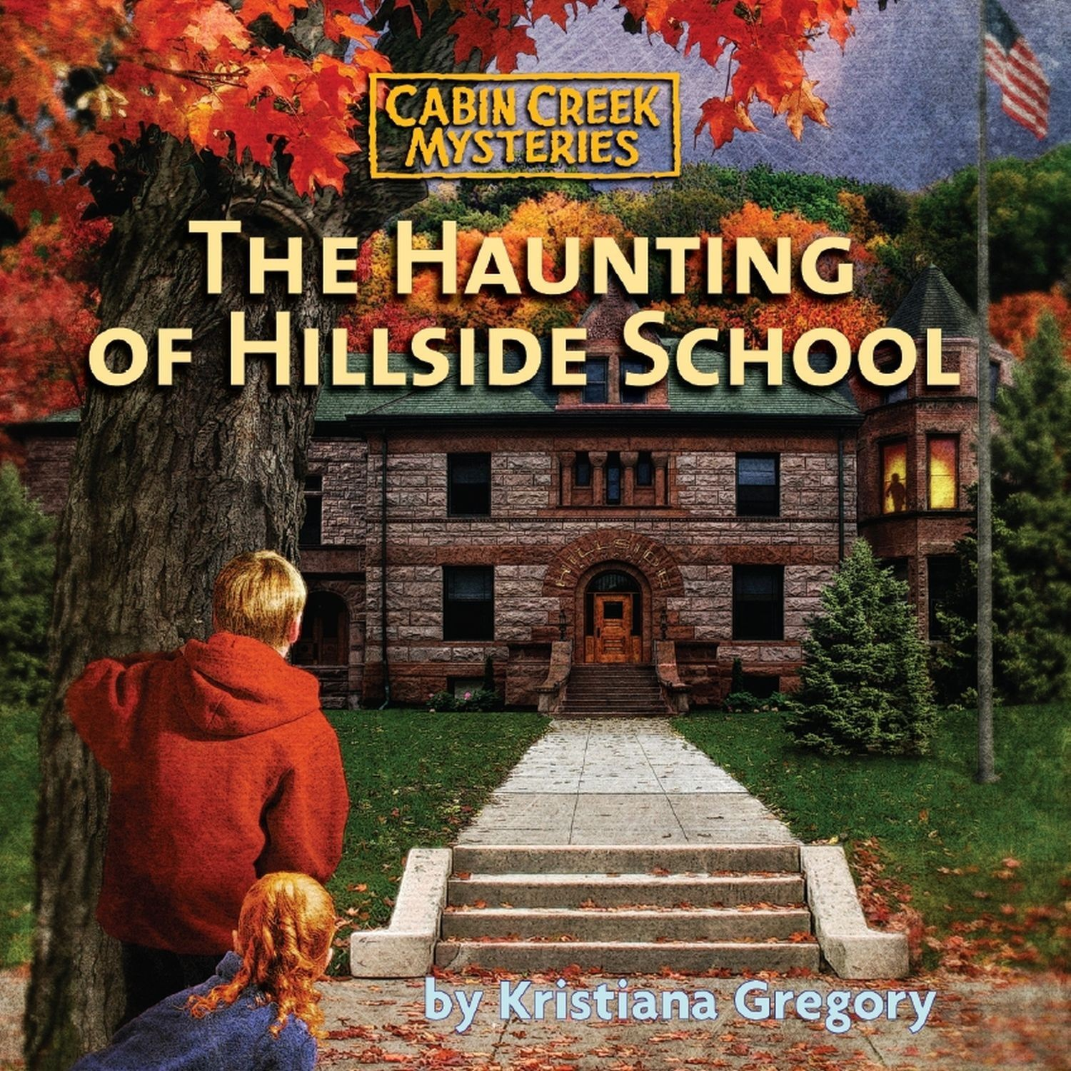 Printable The Haunting of Hillside School Audiobook Cover Art