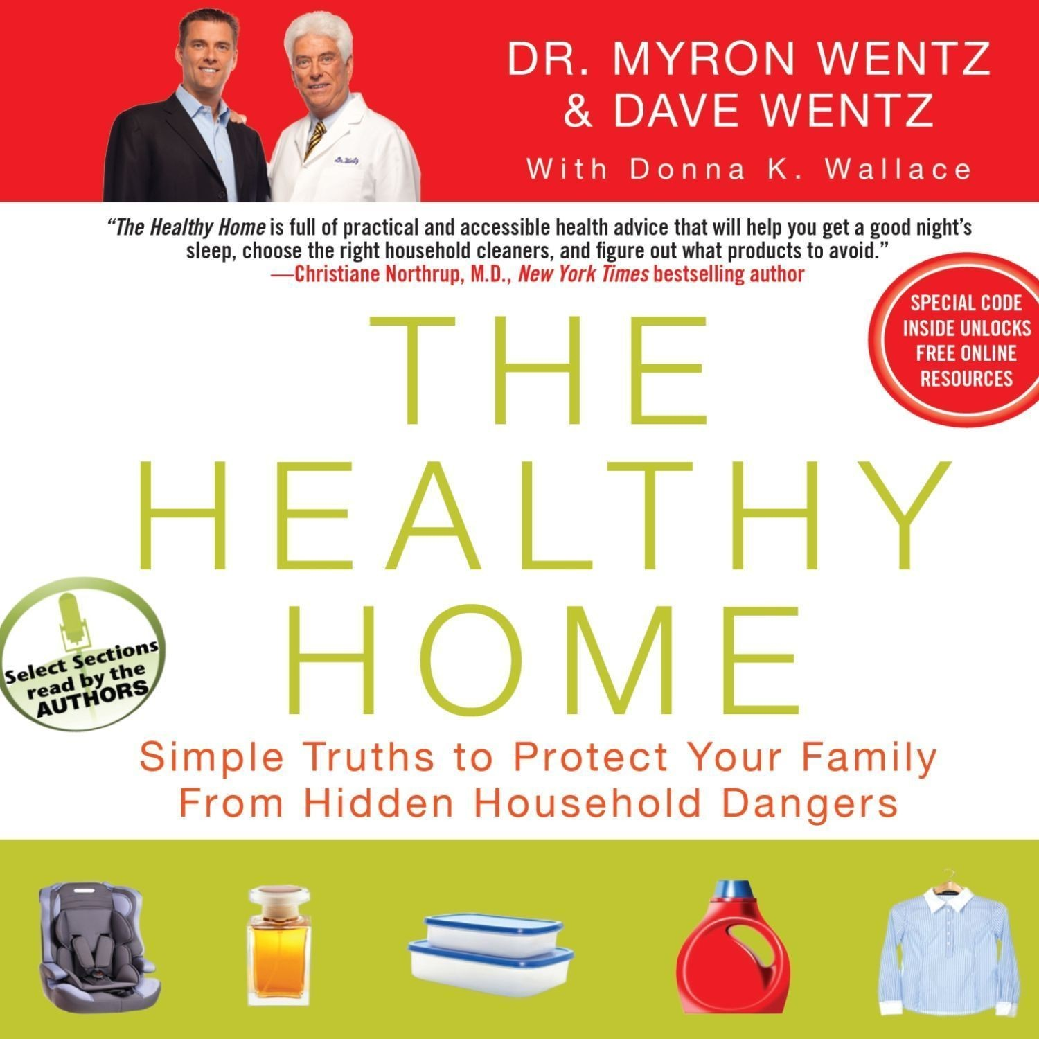 Printable The Healthy Home: Simple Truths to Protect Your Family from Hidden Household Dangers Audiobook Cover Art