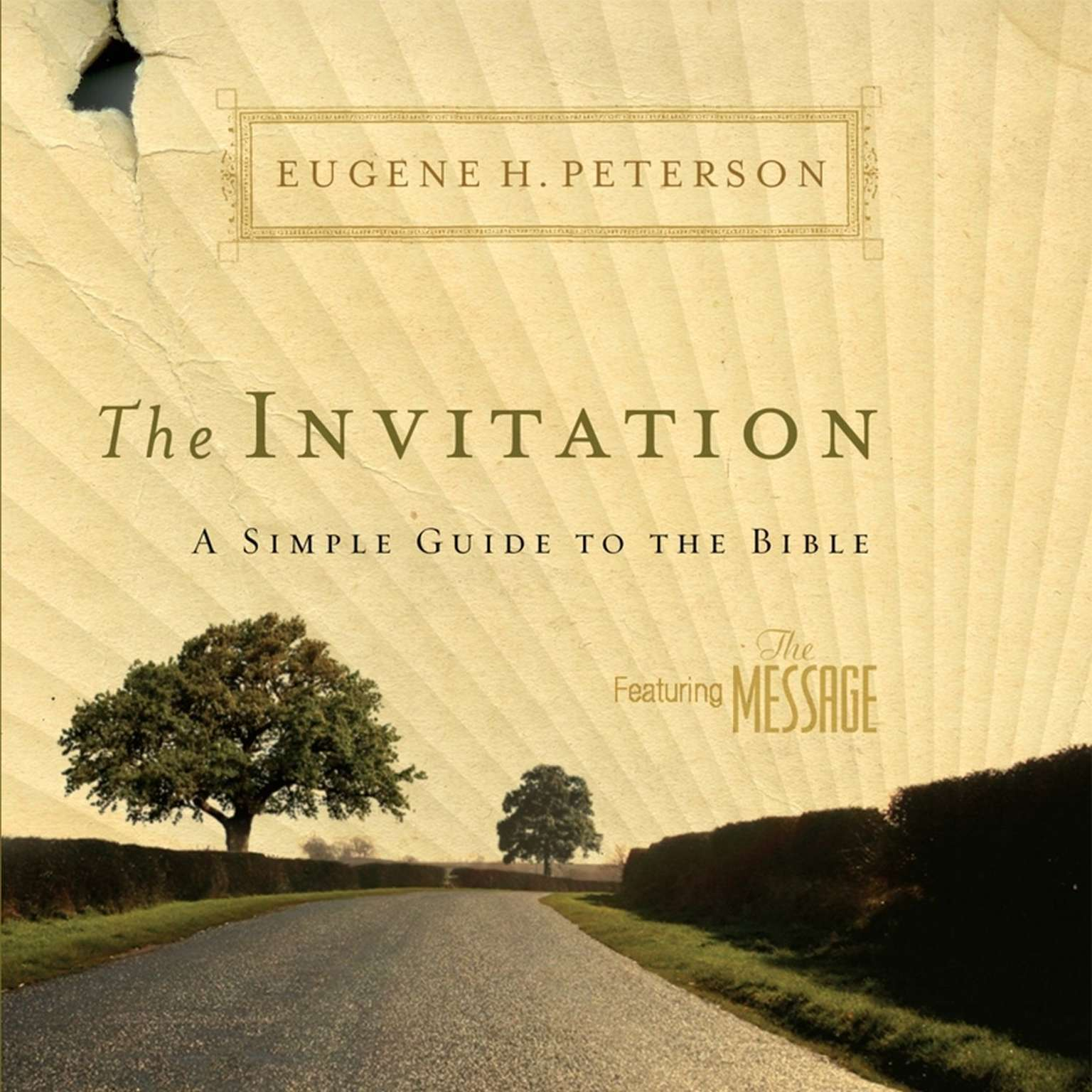 Printable The Invitation: A Simple Guide to the Bible Audiobook Cover Art