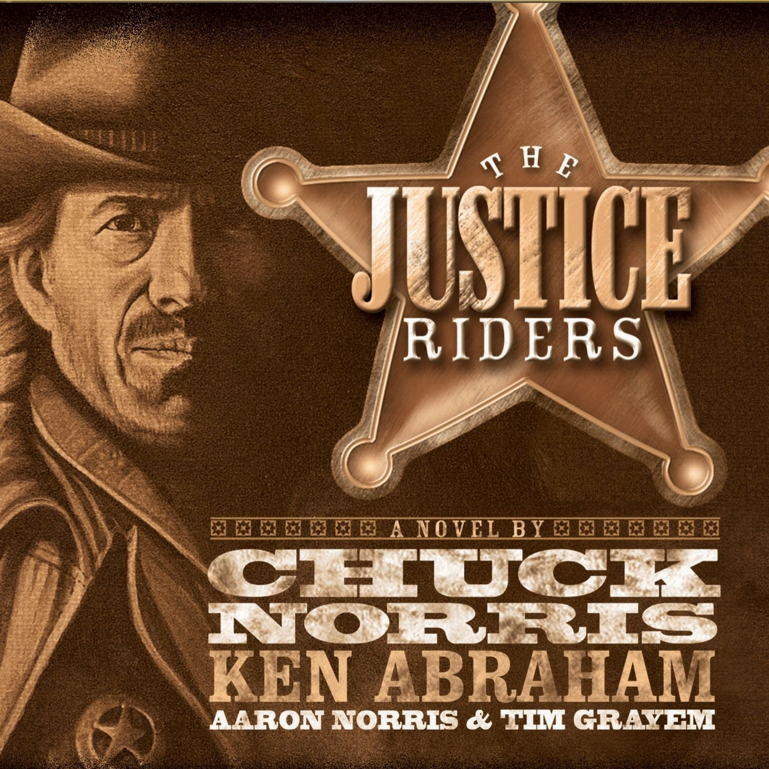 Printable The Justice Riders Audiobook Cover Art