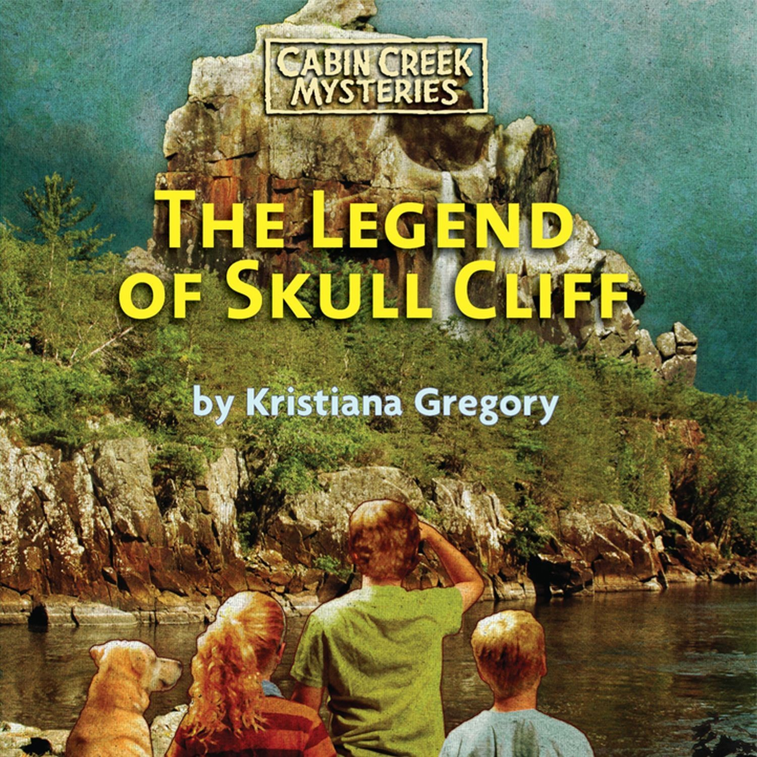Printable The Legend of Skull Cliff Audiobook Cover Art