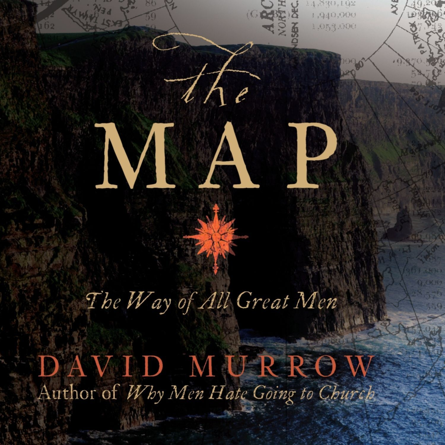 Printable The Map: The Way of All Great Men Audiobook Cover Art