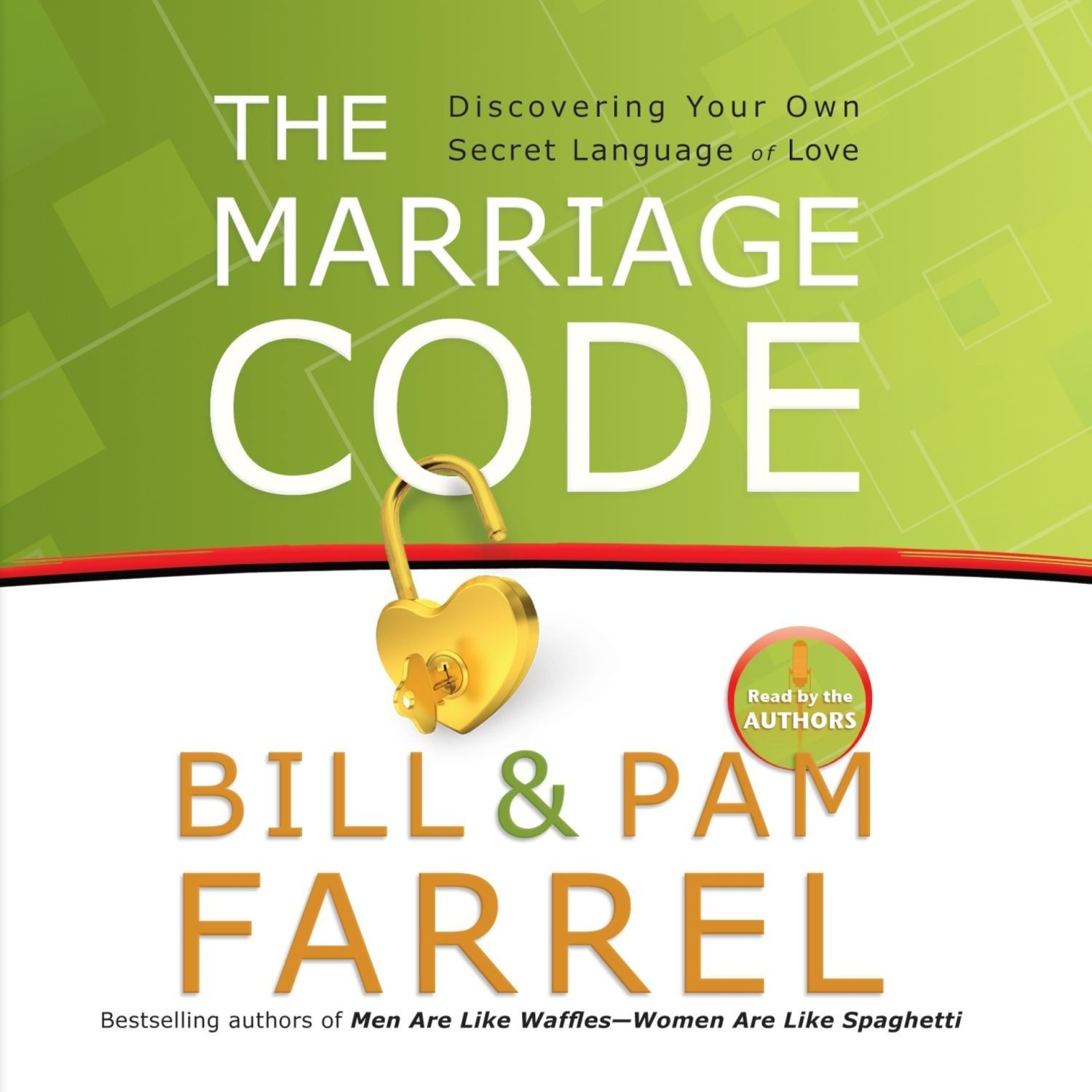 Printable The Marriage Code: Discovering Your Own Secret Language of Love Audiobook Cover Art