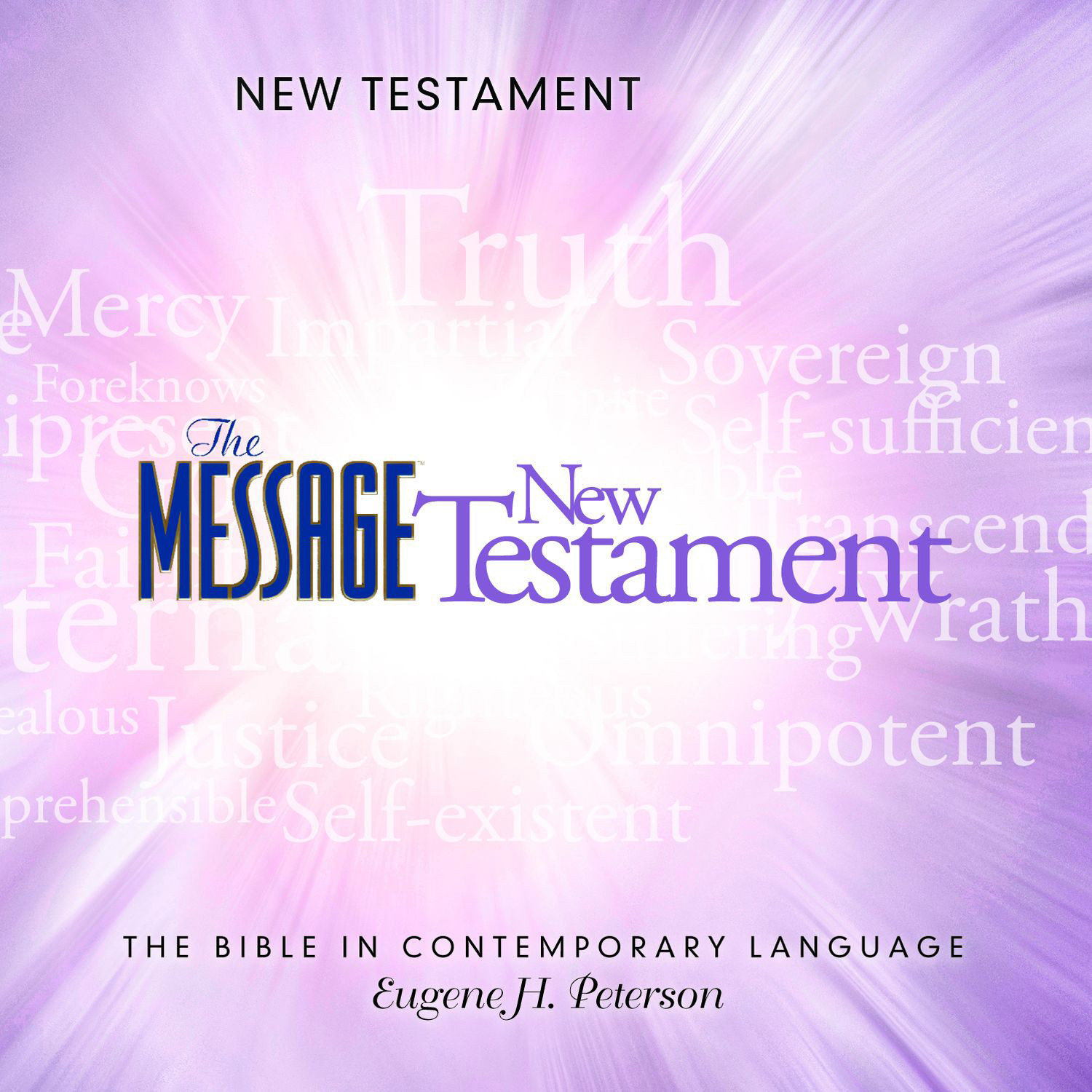 Printable The Message Bible: New Testament Audiobook Cover Art