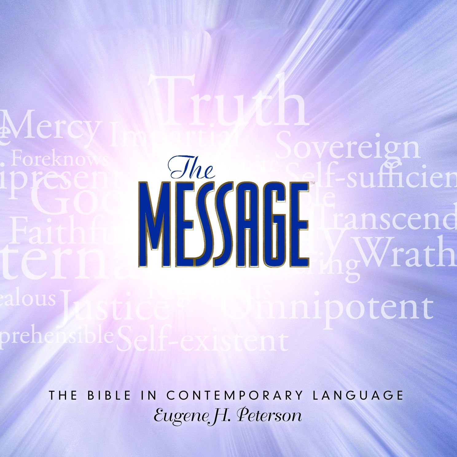 Printable The Message Bible: Complete Bible Audiobook Cover Art