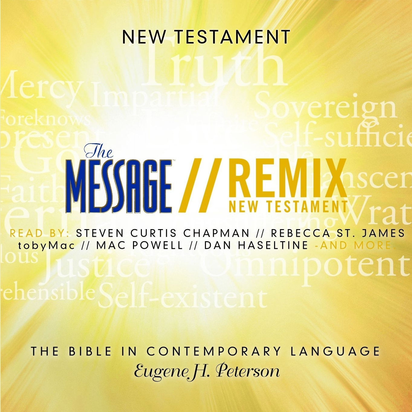 Printable The Message Remix Bible: Complete Bible Audiobook Cover Art