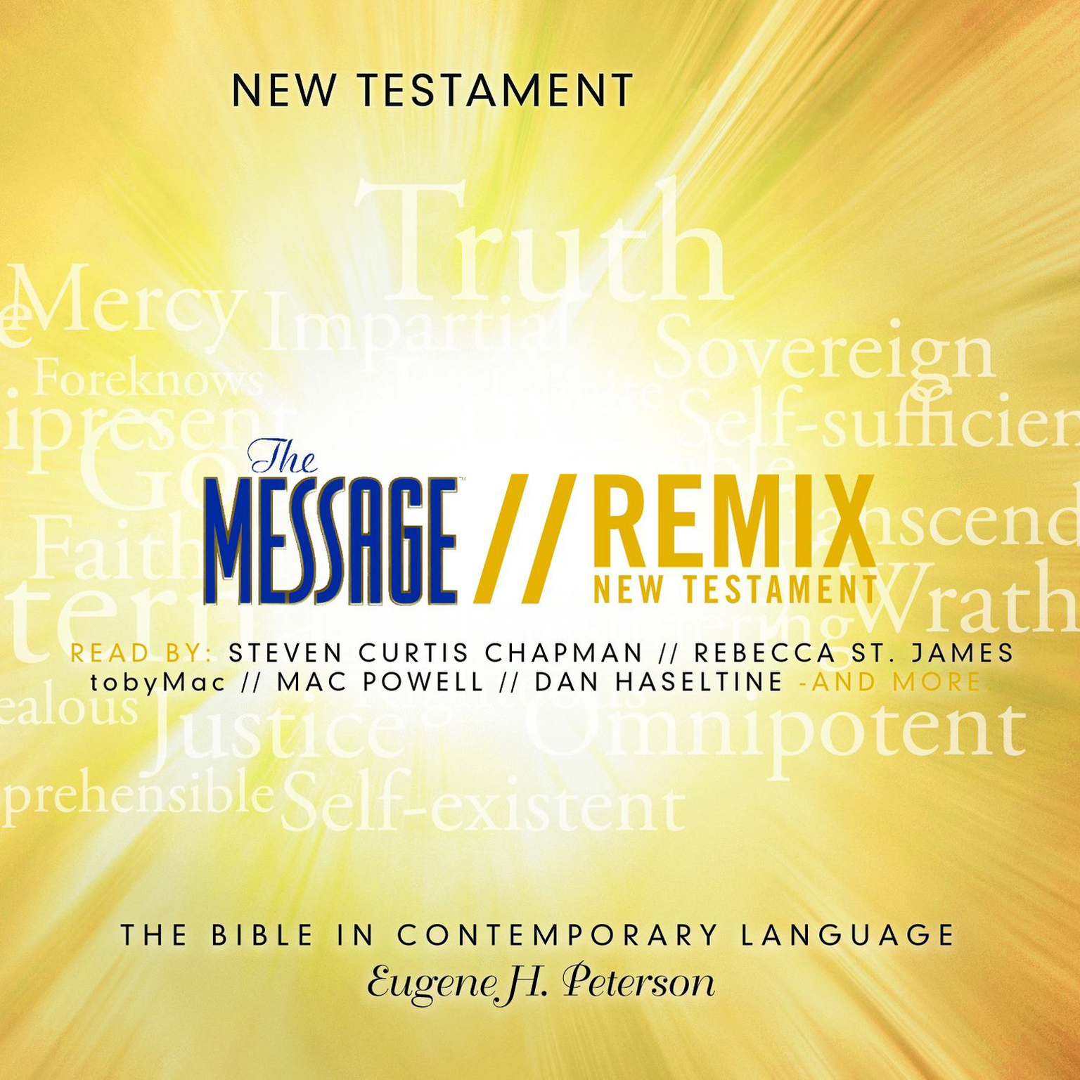Printable The Message Remix Bible: New Testament Audiobook Cover Art