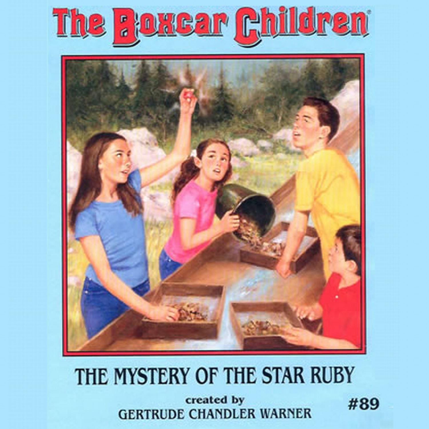 Printable The Mystery of the Star Ruby Audiobook Cover Art