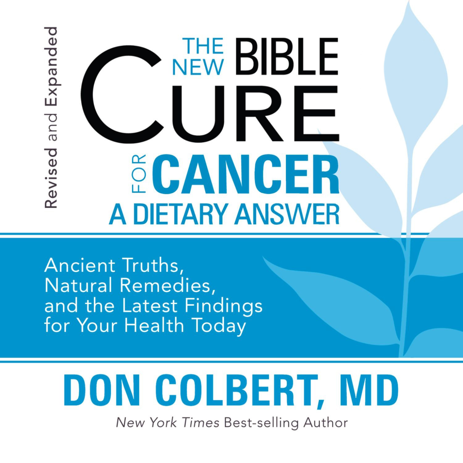 Printable The New Bible Cure for Cancer Audiobook Cover Art