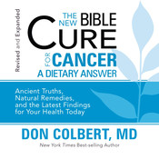The New Bible Cure for Cancer Audiobook, by Don Colbert
