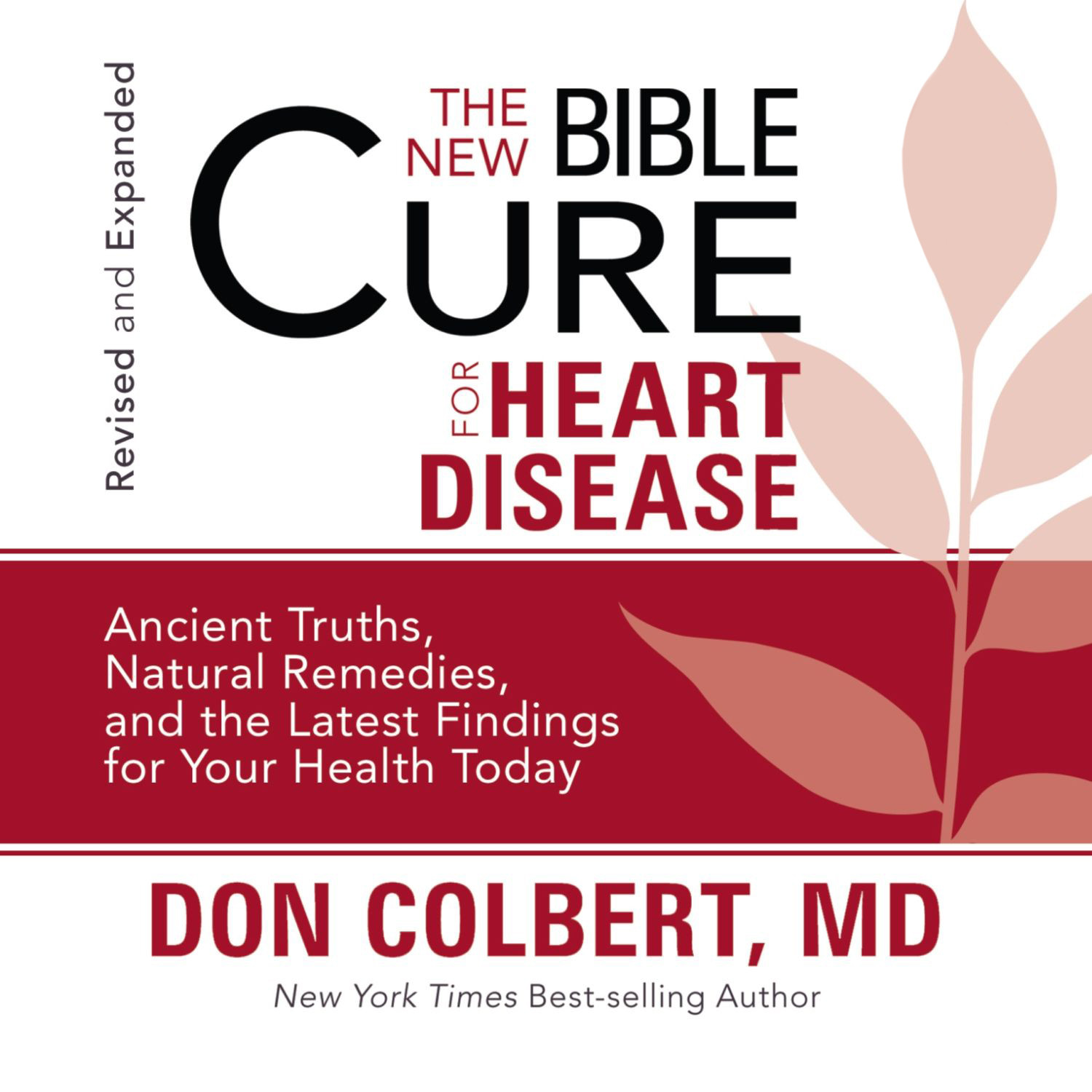 Printable The New Bible Cure for Heart Disease Audiobook Cover Art