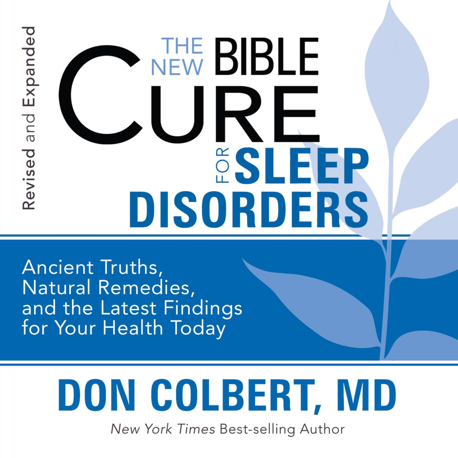 Printable The New Bible Cure for Sleep Disorders Audiobook Cover Art