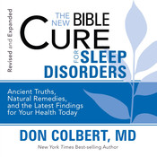 The New Bible Cure for Sleep Disorders, by Don Colbert