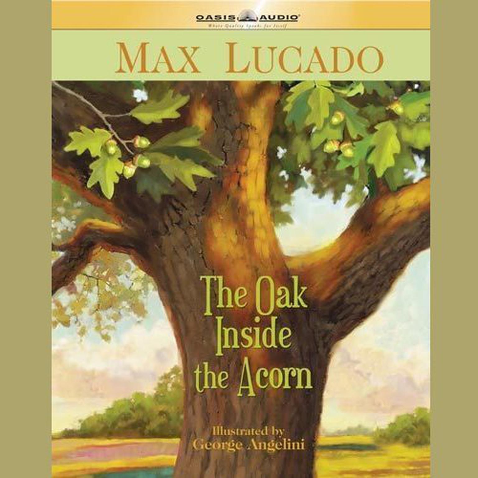 Printable The Oak Inside the Acorn Audiobook Cover Art