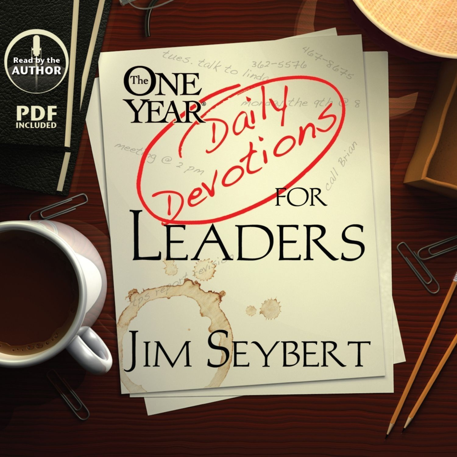 Printable The One Year [Daily Devotions] for Leaders Audiobook Cover Art