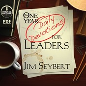 The One Year [Daily Devotions] for Leaders Audiobook, by Jim Seybert