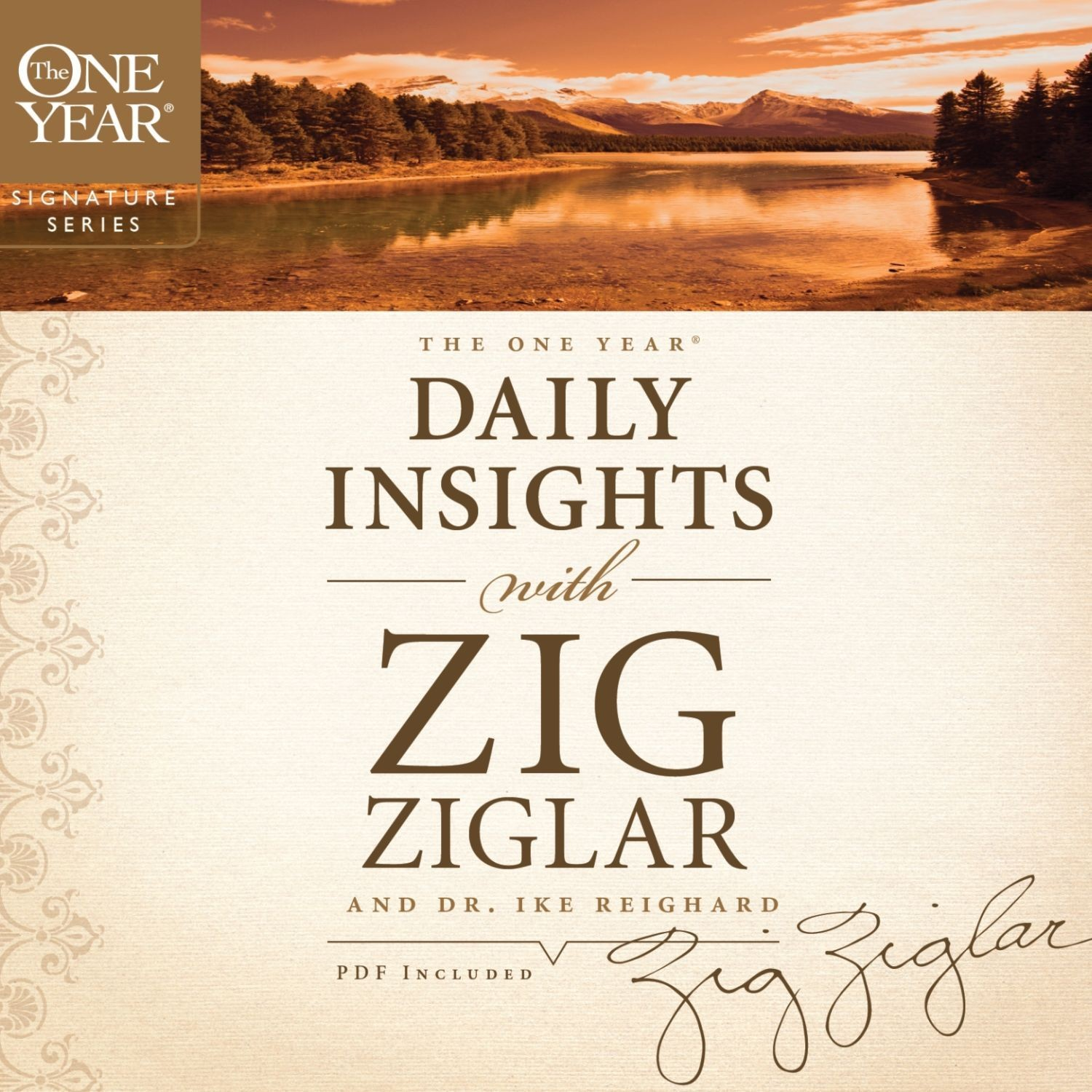 Printable The One Year Daily Insights with Zig Ziglar Audiobook Cover Art