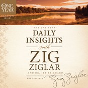 The One Year Daily Insights with Zig Ziglar Audiobook, by Zig Ziglar, Dwight Reighard