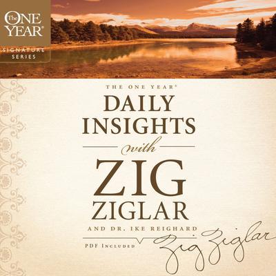 The One Year Daily Insights with Zig Ziglar Audiobook, by Zig Ziglar