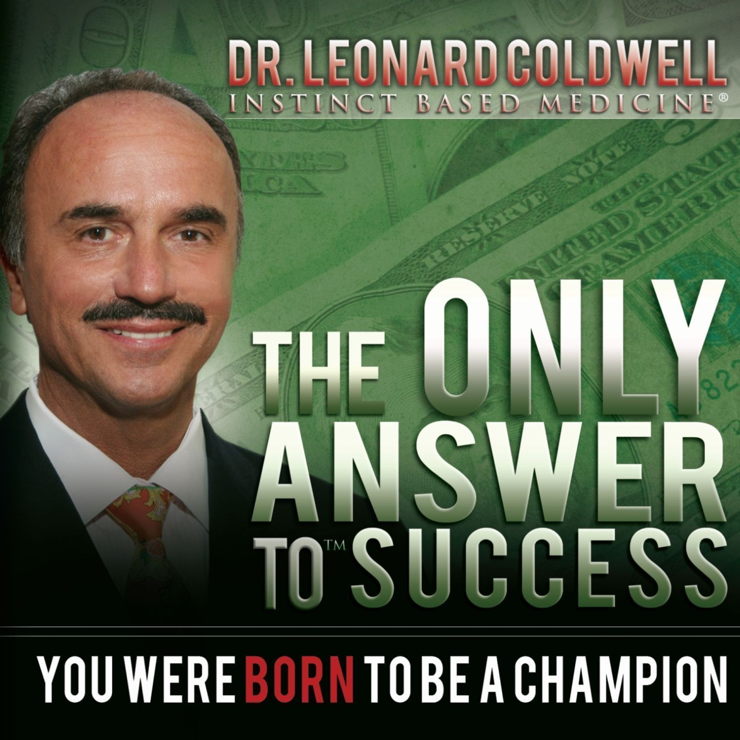 Printable The Only Answer to Success: You Were Born to Be a Champion Audiobook Cover Art
