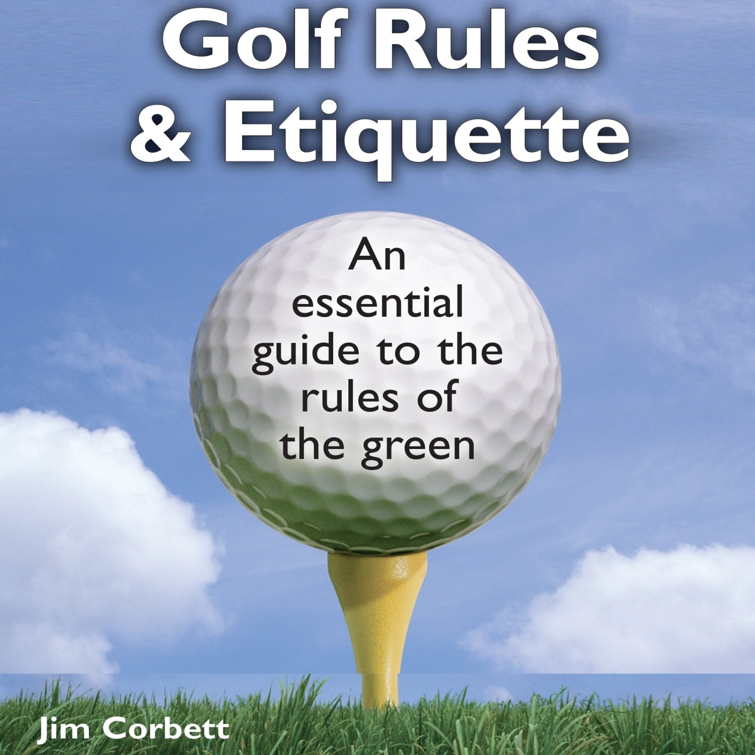 Printable The Pocket Idiot's Guide to Golf Rules and Etiquette Audiobook Cover Art