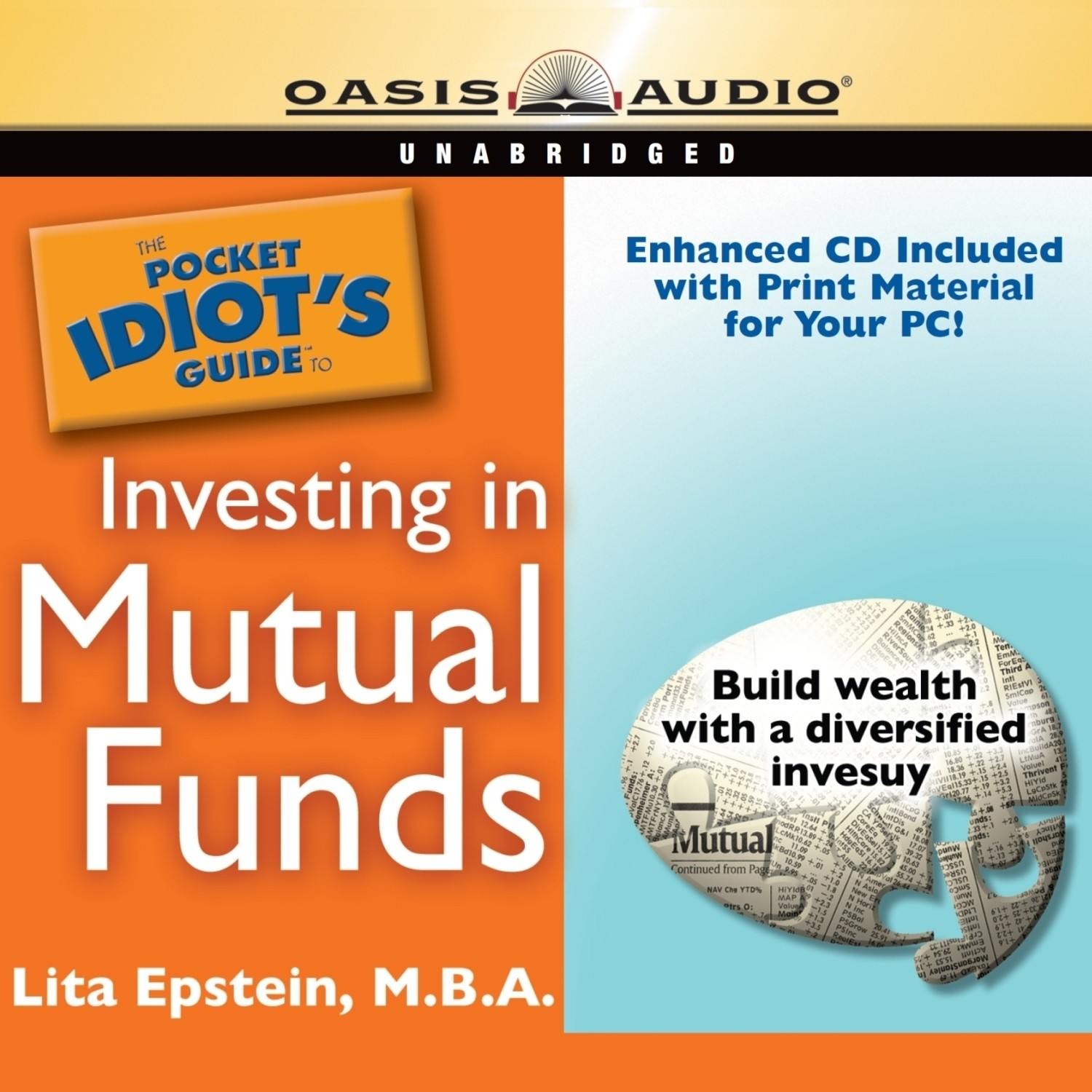 Printable The Pocket Idiot's Guide to Investing in Mutual Funds Audiobook Cover Art