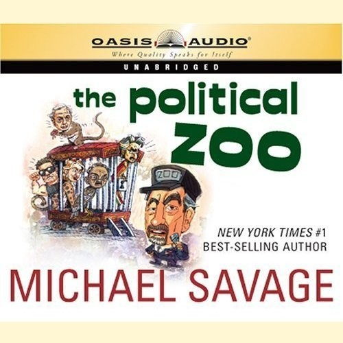 Printable The Political Zoo Audiobook Cover Art