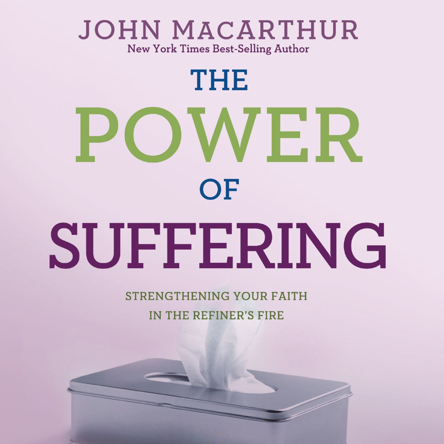 Printable The Power of Suffering: Strengthening Your Faith in the Refiner's Fire Audiobook Cover Art