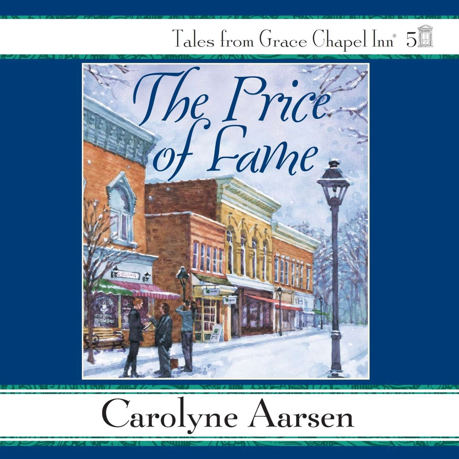 Printable The Price of Fame Audiobook Cover Art