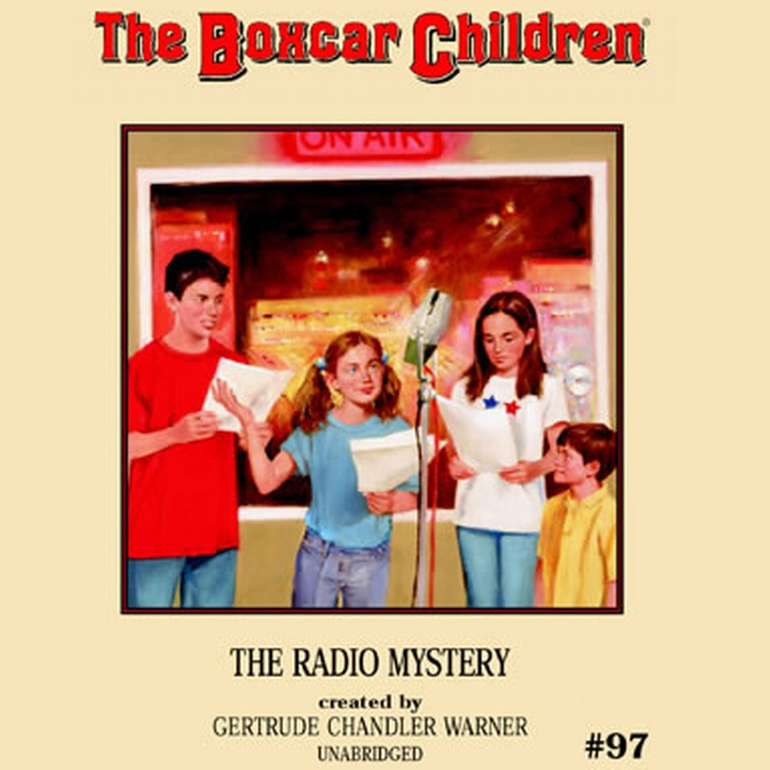 Printable The Radio Mystery Audiobook Cover Art