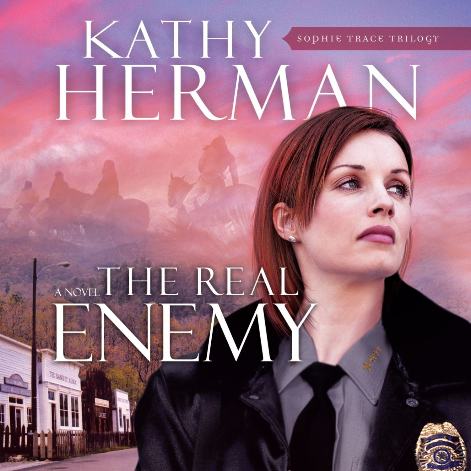 Printable The Real Enemy Audiobook Cover Art