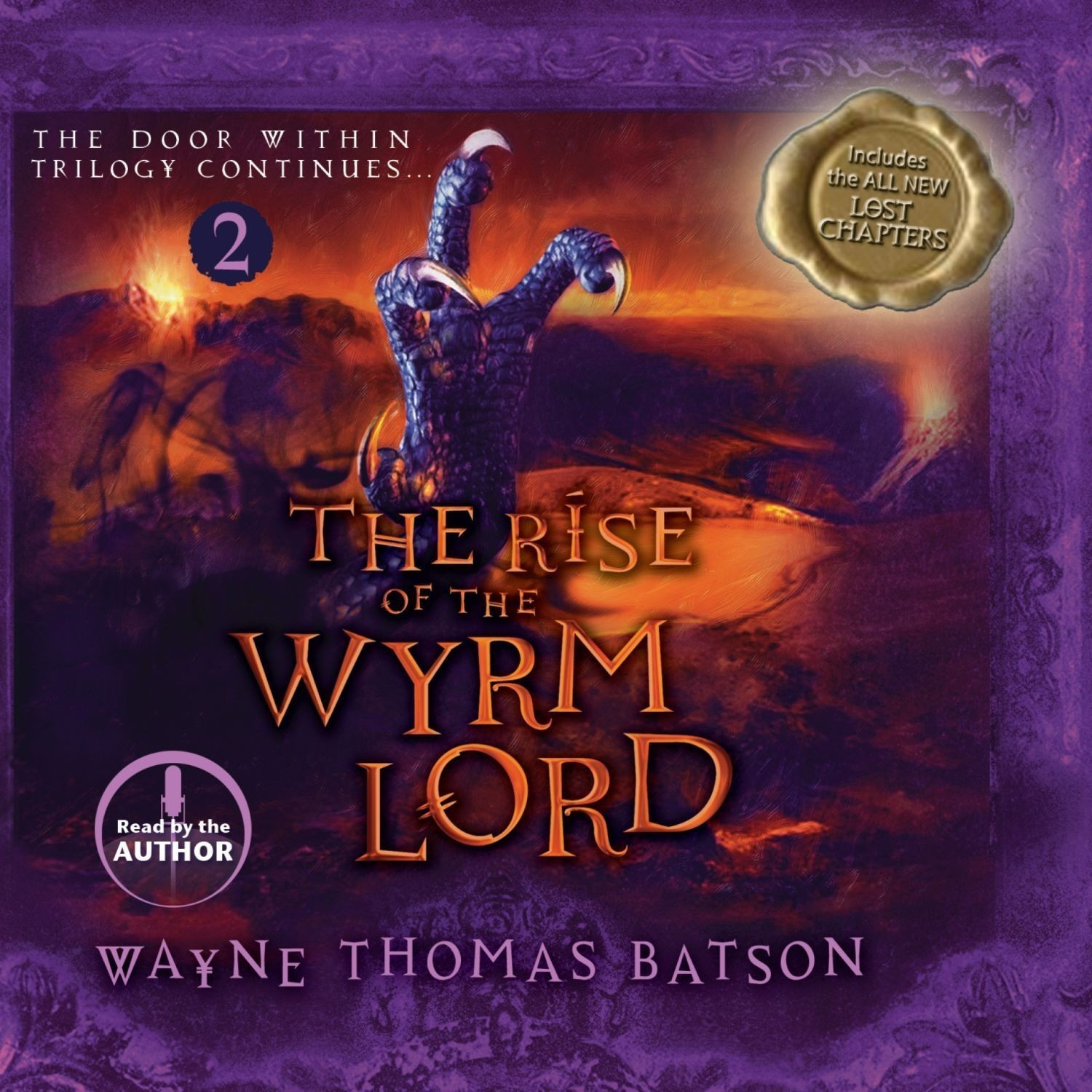 Printable The Rise of the Wyrm Lord Audiobook Cover Art