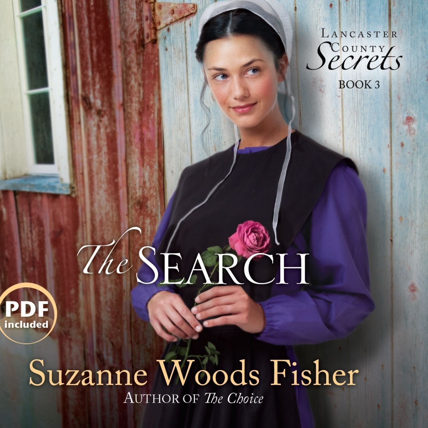 Printable The Search: A Novel Audiobook Cover Art