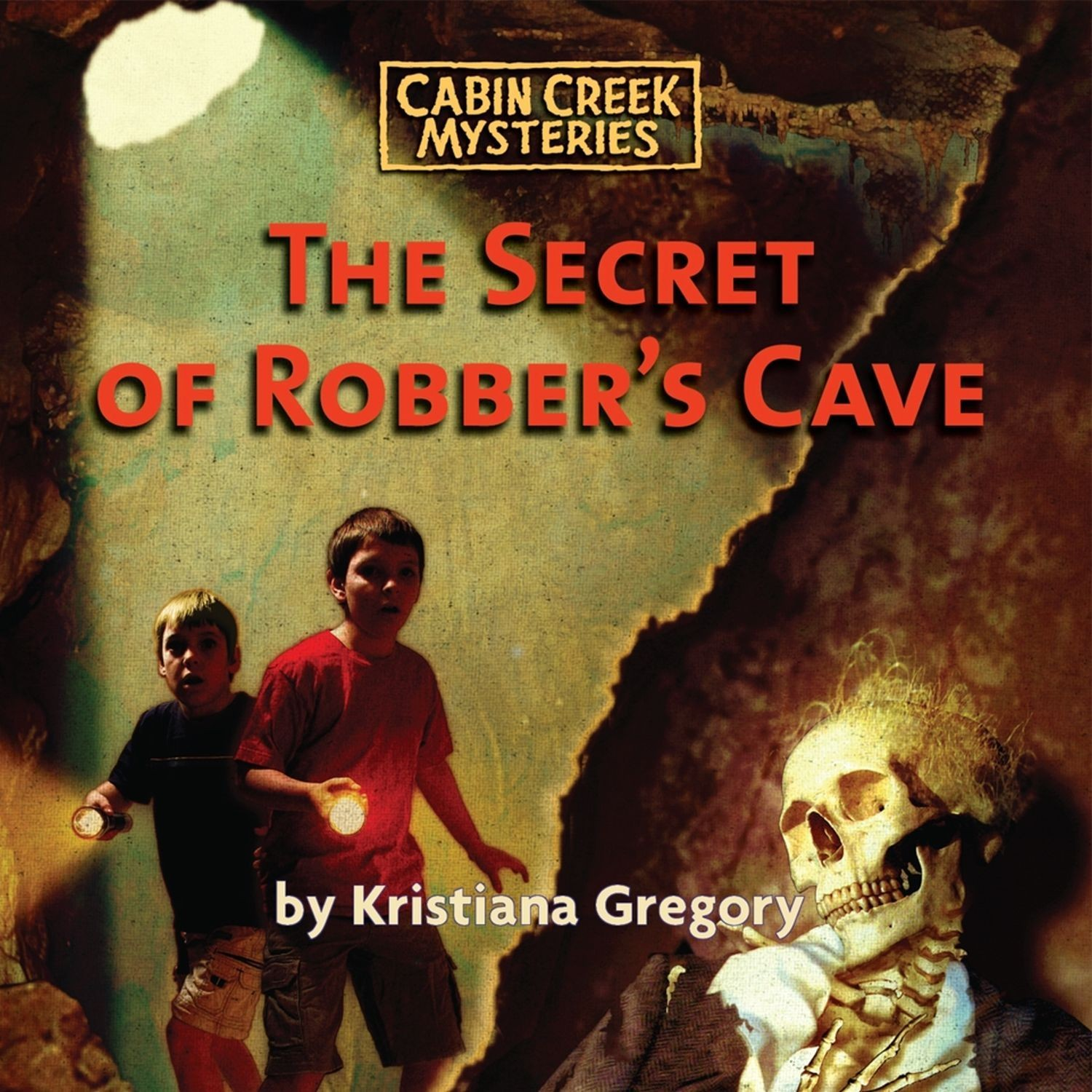 Printable The Secret of Robber's Cave Audiobook Cover Art