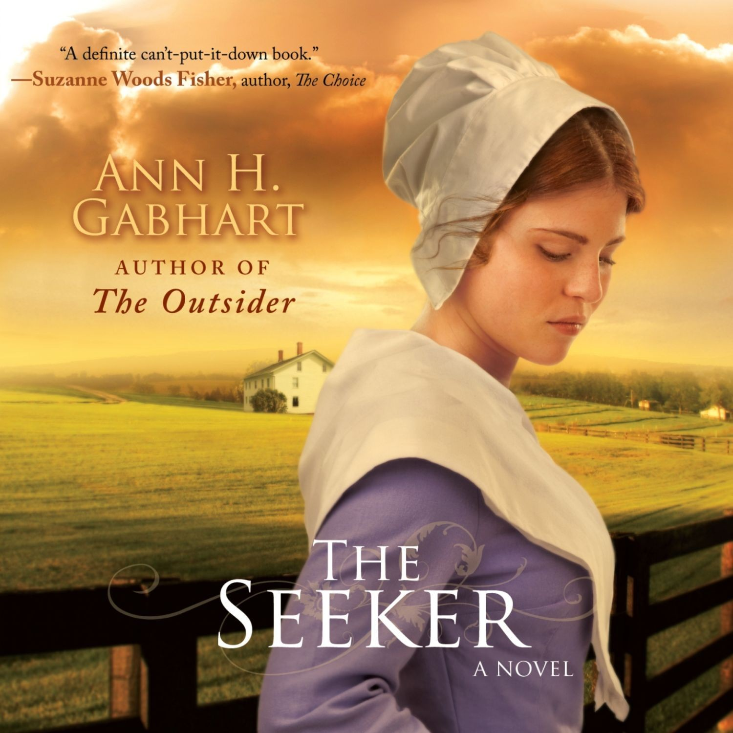 Printable The Seeker: A Novel Audiobook Cover Art