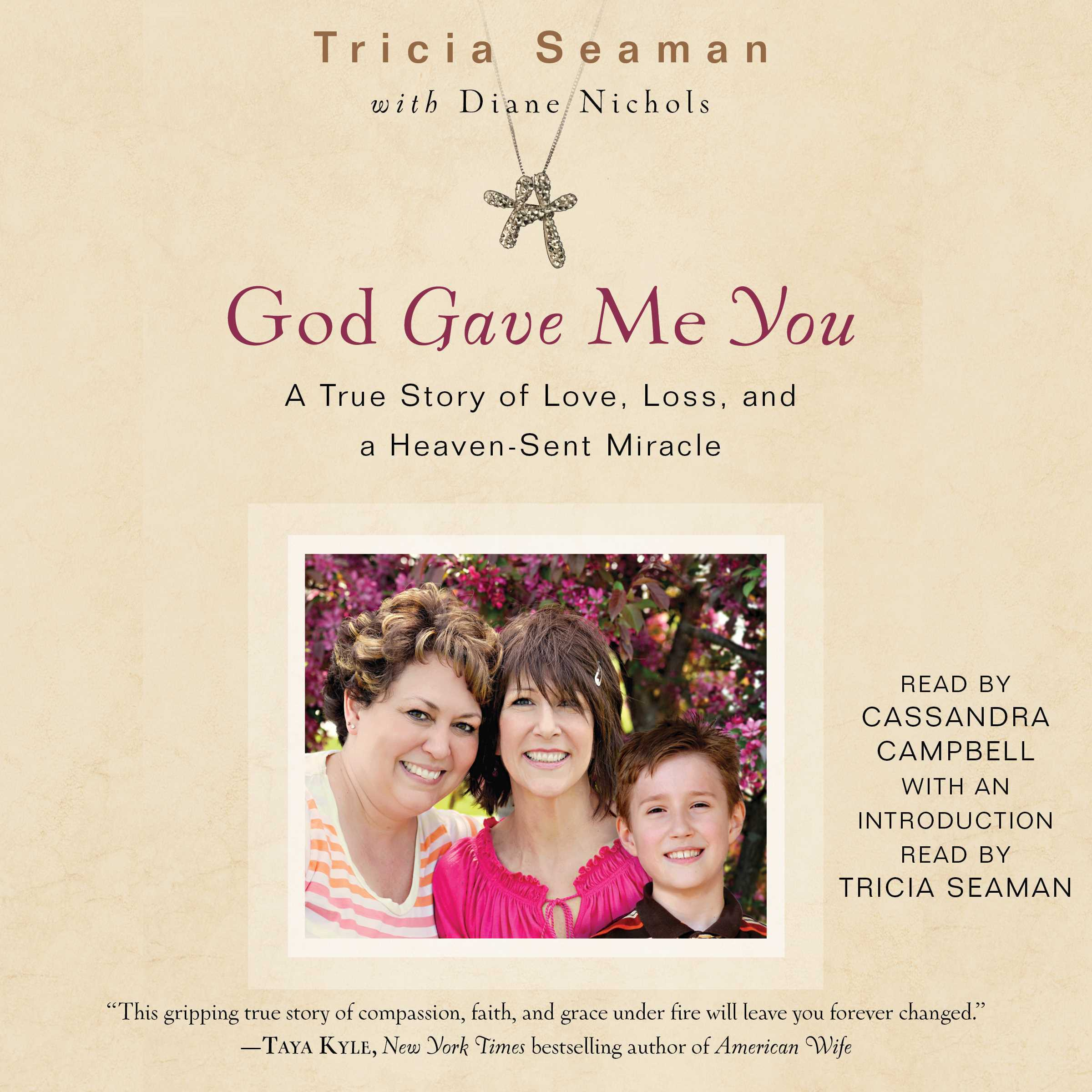 Printable God Gave Me You Audiobook Cover Art